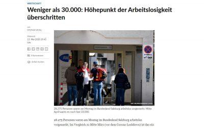 SN berichtet: Weniger als 30.000: Höhepunkt der Arbeitslosigkeit überschritten